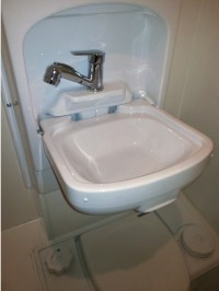 Camper toilets, Ireland - showers, handbasins, fold away ...