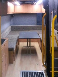 Upholstered Seating, Wardrobes, Cupboards & Kitchen Units fitted by Céide Campervan Conversions, Co. Donegal, North-West Ireland